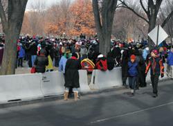 J-J Hooks Barriers at 2009 Inauguration