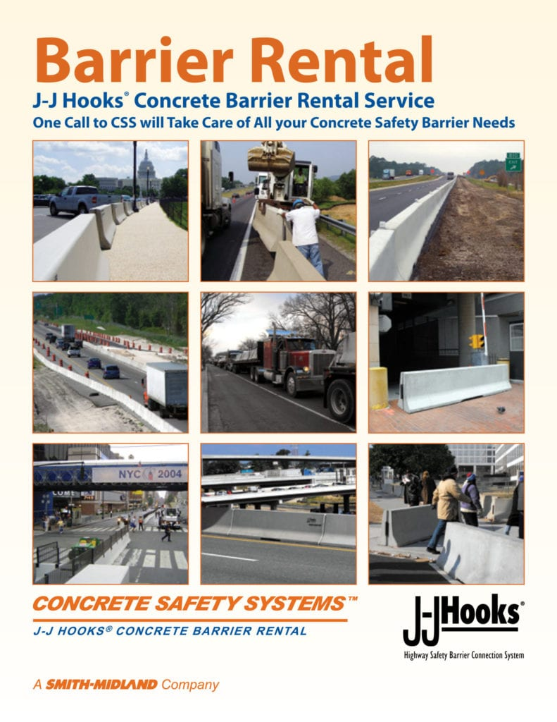 Concrete Safety Systems Rental Brochure cover